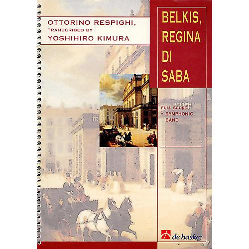 De Haske Music Belkis, Regina Di Saba (Part II) Concert Band Arranged by Yoshihiro Kimura