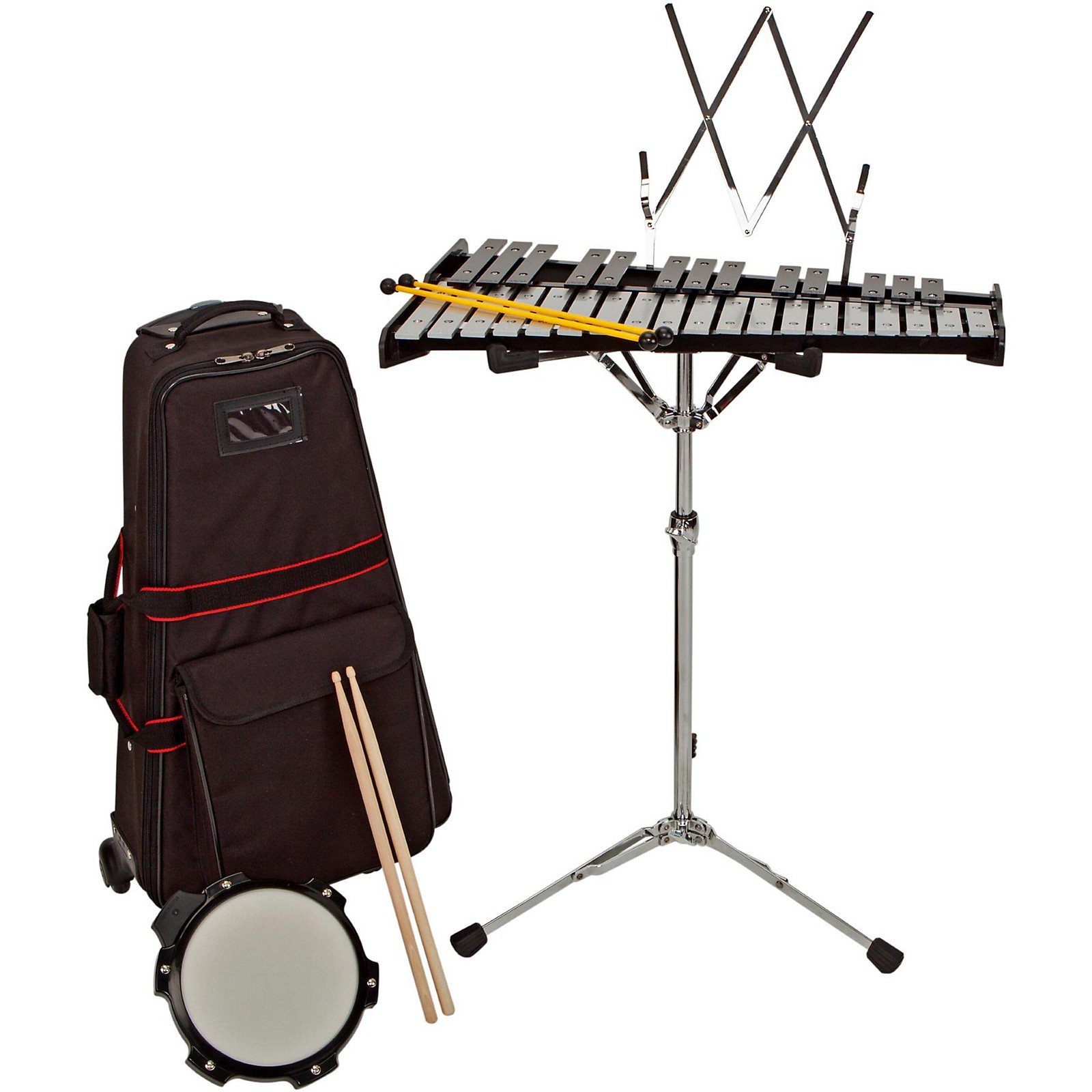 Sound Percussion Labs Bell Kit With Rolling Cart