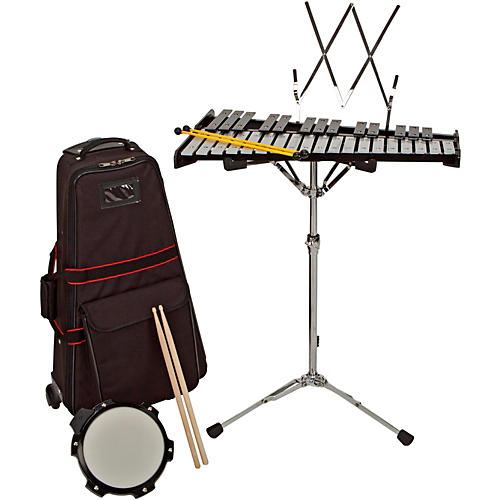 Sound Percussion Labs Bell Kit With Rolling Cart 2-1/2 OCTAVE