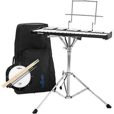 Majestic Bell and Practice Pad Kit With Backpack