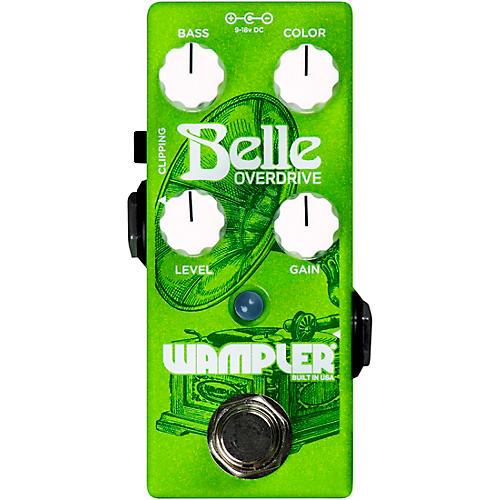 Wampler Belle Overdrive Effects Pedal Green