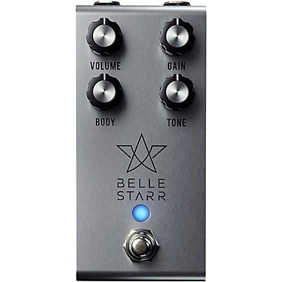 Jackson Audio Belle Starr Professional Overdrive Effects Pedal