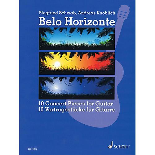 Schott Belo Horizonte (Beautiful Horizon) (10 Concert Pieces for Guitar) Guitar Series Softcover
