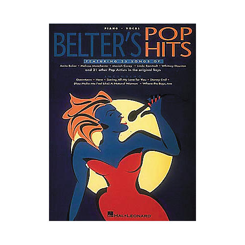 Hal Leonard Belter's Pop Hits Piano, Vocal, Guitar Songbook
