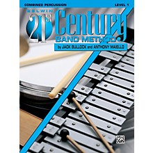 Alfred Belwin 21st Century Band Method Level 1 Combined Percussion Book