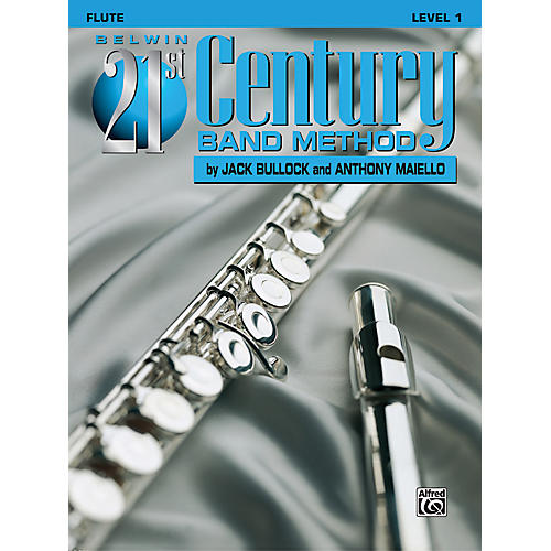 Alfred Belwin 21st Century Band Method Level 1 Flute Book