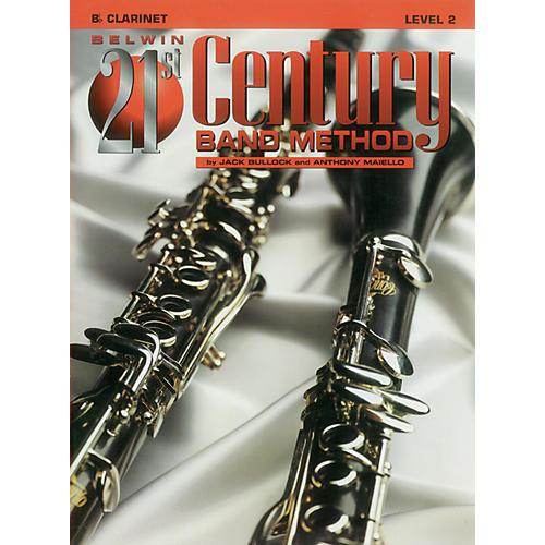 Alfred Belwin 21st Century Band Method Level 2 B-Flat Clarinet Book