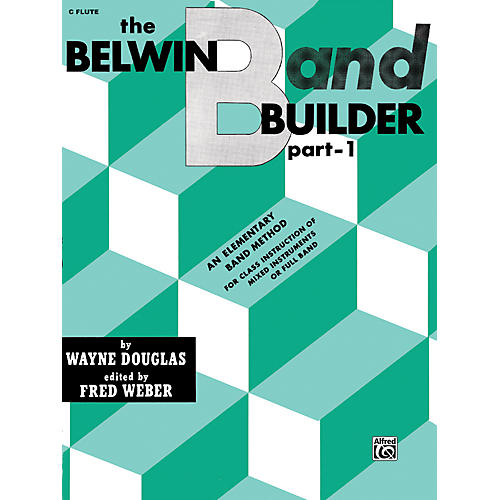 Alfred Belwin Band Builder Part 1 C Flute