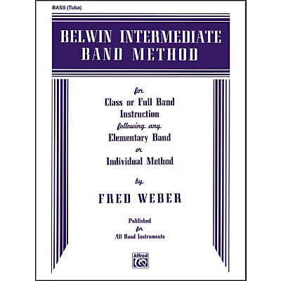 Alfred Belwin Intermediate Band Method Bass (Tuba)