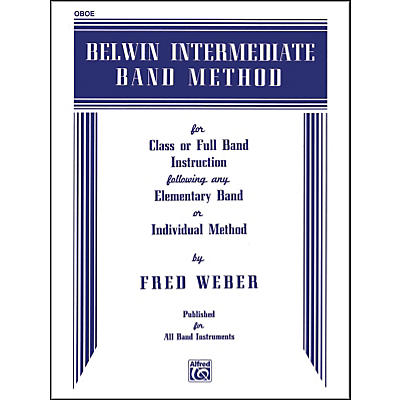 Alfred Belwin Intermediate Band Method Oboe
