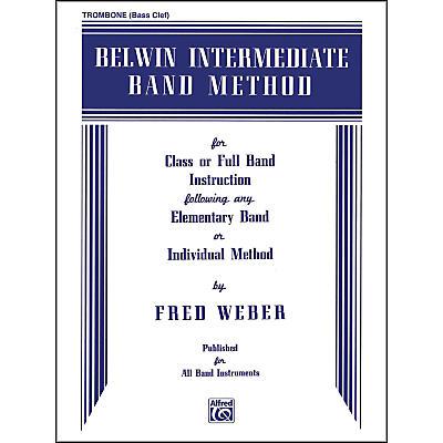 Alfred Belwin Intermediate Band Method Trombone (B.C.)