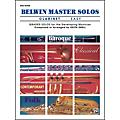Alfred Belwin Master Solos Volume 1 (Clarinet) Easy Solo Book Only thumbnail
