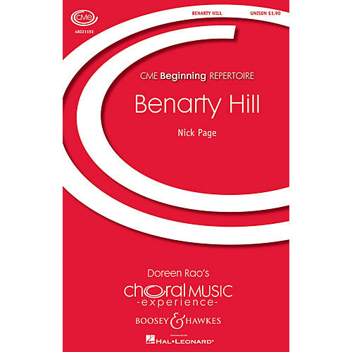 Boosey and Hawkes Benarty Hill (CME Beginning) UNIS composed by Nick Page
