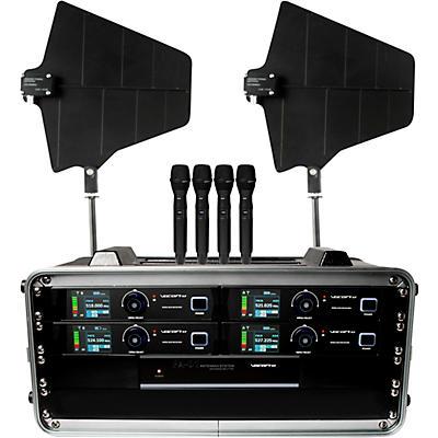 Vocopro Benchmark-QUAD-HH 4-channel True Diversity Handheld Mic System