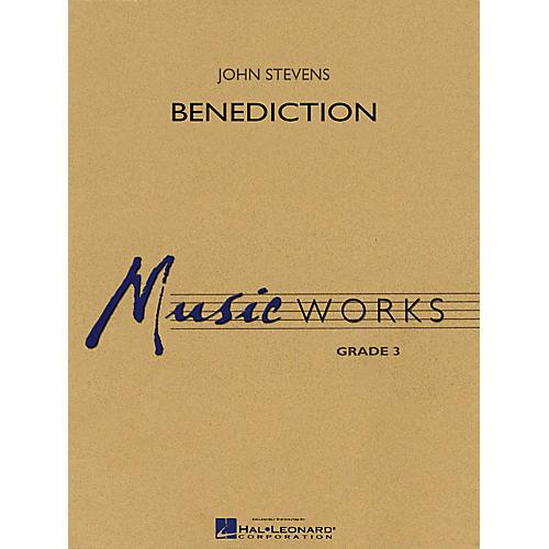 Hal Leonard Benediction Concert Band Level 3 Composed by John Stevens