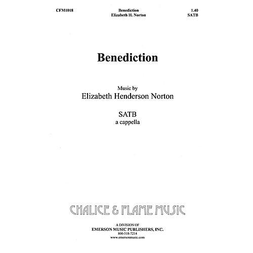 Hal Leonard Benediction SATB composed by Elizabeth Norton