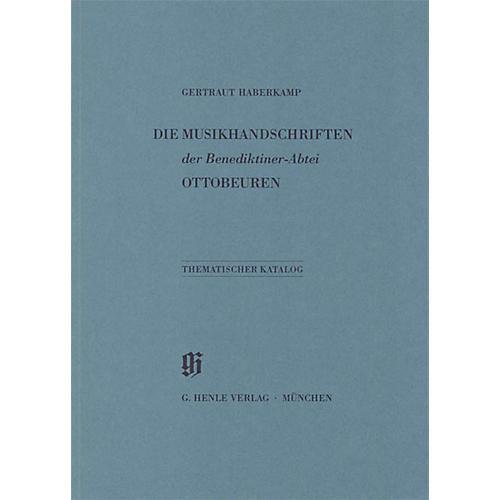 G. Henle Verlag Benediktiner-Abtei Ottobeuren Henle Books Series Softcover