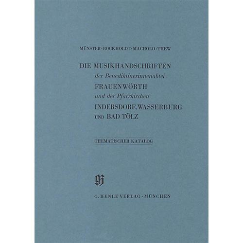 G. Henle Verlag Benediktinerinnenabtei Frauenwörth und Pfarrkirchen Indersdorf, Wasserburg am Inn und Bad Tölz Henle Books