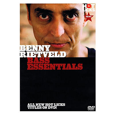 Music Sales Benny Rietveld - Bass Essentials DVD
