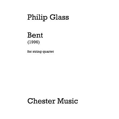Dunvagen Bent (String Quartet) Music Sales America Series Softcover Composed by Philip Glass