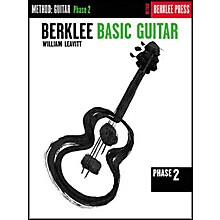 Berklee Press Berklee Basic Guitar - Phase 2 Book