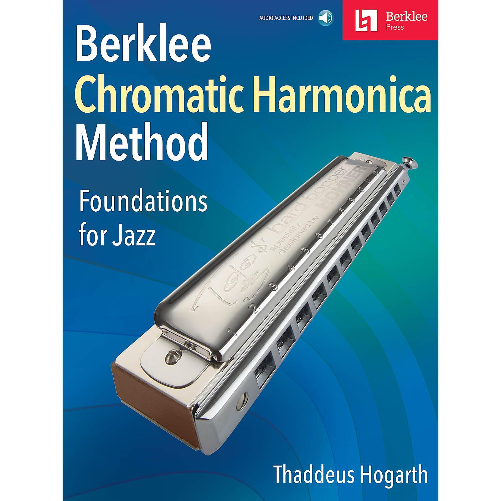 Berklee Press Berklee Chromatic Harmonica Method Foundations for Jazz Book/Audio Online