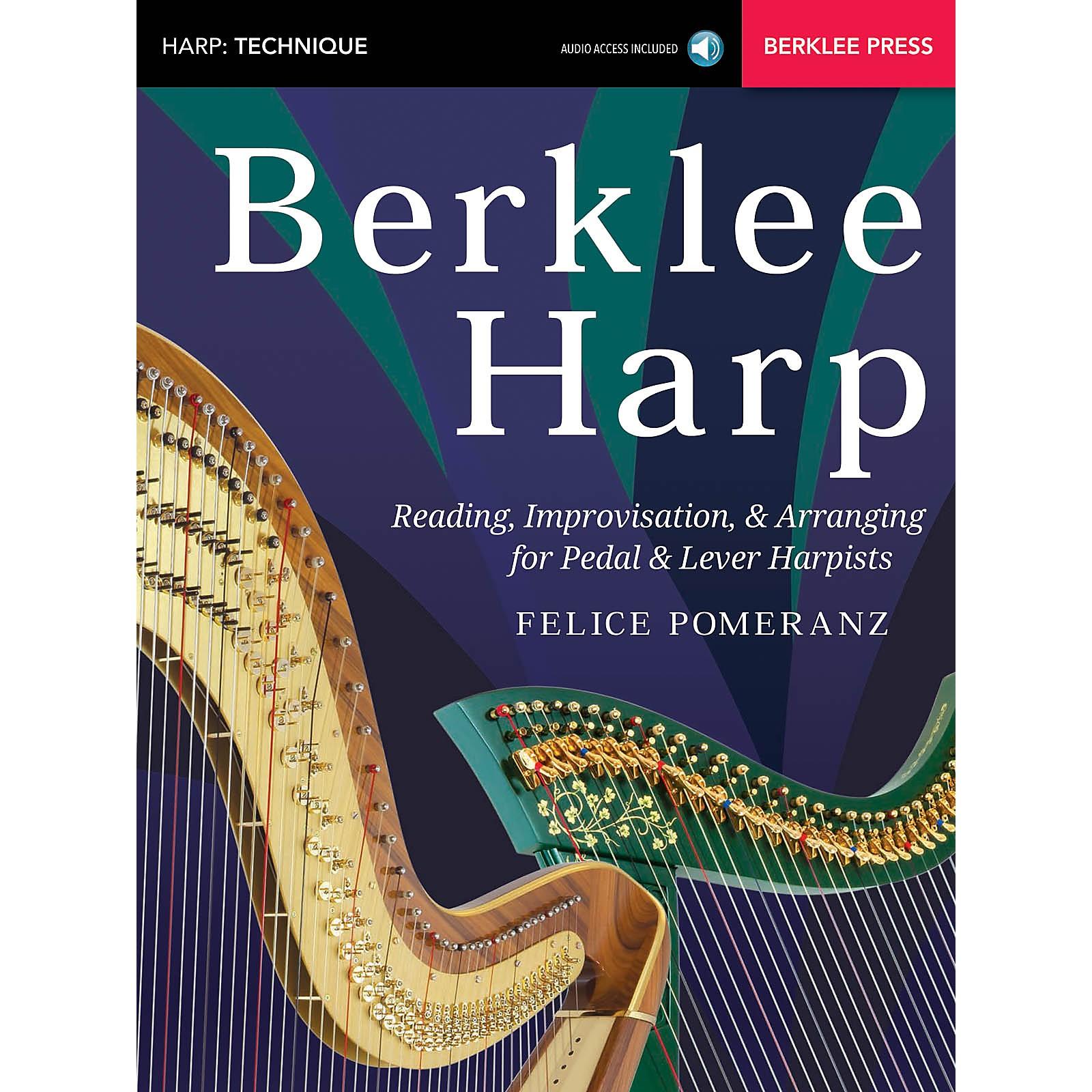 Berklee Press Berklee Harp Berklee Guide Series Softcover Audio Online Written by Felice Pomeranz