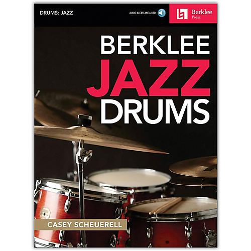 Berklee Press Berklee Jazz Drums Book/Audio Online