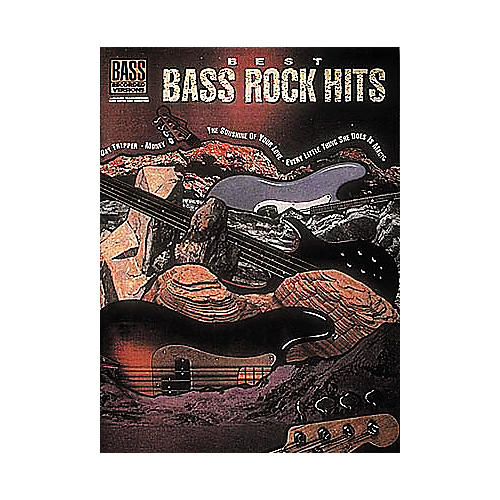 Hal Leonard Best Bass Rock Hits Book