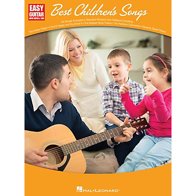 Hal Leonard Best Children's Songs (Easy Guitar with Notes & Tab) Easy Guitar Series Softcover