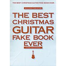 Hal Leonard Best Christmas Guitar Fake Book Ever