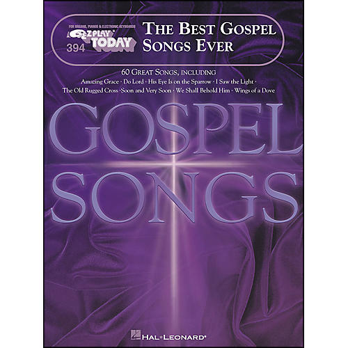 Hal Leonard Best Gospel Songs Ever E-Z Play 394