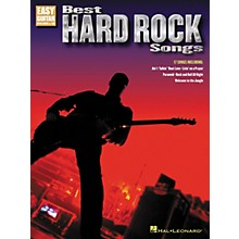 Hal Leonard Best Hard Rock Songs (Easy Guitar with Notes & Tab)
