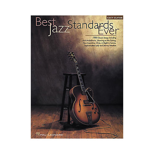 Hal Leonard Best Jazz Standards Ever Easy Guitar Book