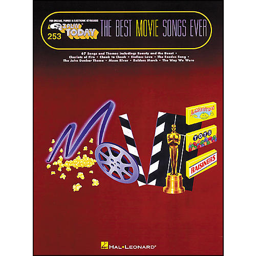 Hal Leonard Best Movie Songs Ever E-Z Play 253