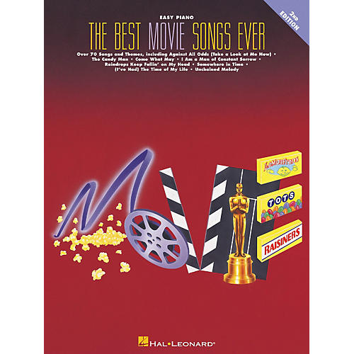 Hal Leonard Best Movie Songs Ever For Easy Piano 2nd Edition