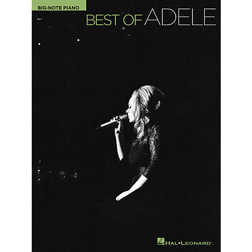 Hal Leonard Best Of Adele For Big Note Piano