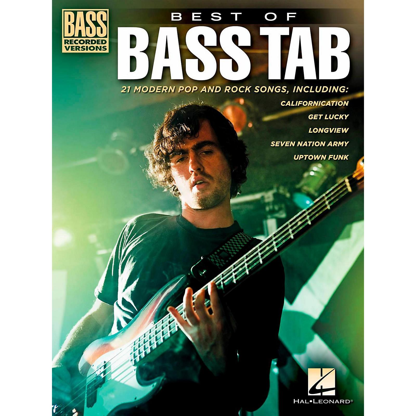 Hal Leonard Best Of Bass Tab