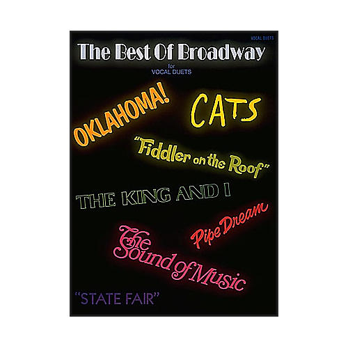 Hal Leonard Best Of Broadway Vocal Duets