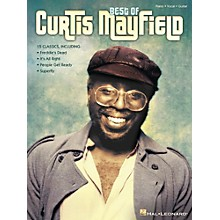 Hal Leonard Best Of Curtis Mayfield for Piano/Vocal/Guitar