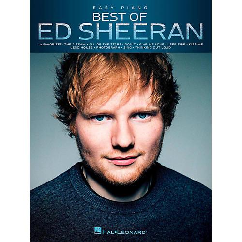Hal Leonard Best Of Ed Sheeran For Easy Piano