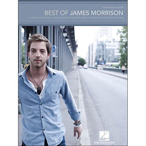 Hal Leonard Best Of James Morrison arranged for piano, vocal, and guitar (P/V/G)