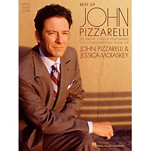 Hal Leonard Best Of John Pizzarelli for Piano/Vocal/Vocal PVG