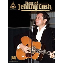 Open Box Hal Leonard Best Of Johnny Cash Guitar Tab Songbook