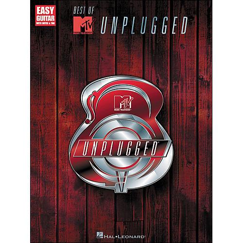Hal Leonard Best Of MTV Unplugged Easy Guitar Tab