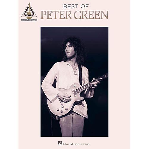 Hal Leonard Best Of Peter Green Guitar Tab Songbook