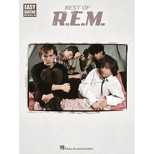 Hal Leonard Best Of R.E.M. Easy Guitar Tab Songbook
