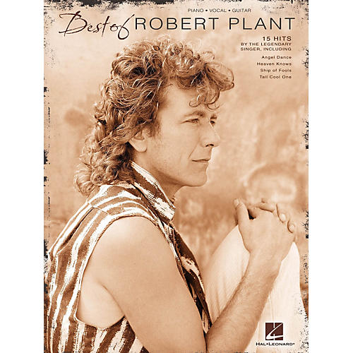 Hal Leonard Best Of Robert Plant PVG Songbook