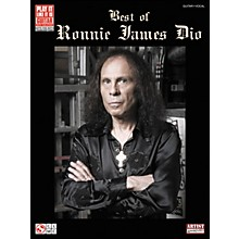 Cherry Lane Best Of Ronnie James Dio Tab Book