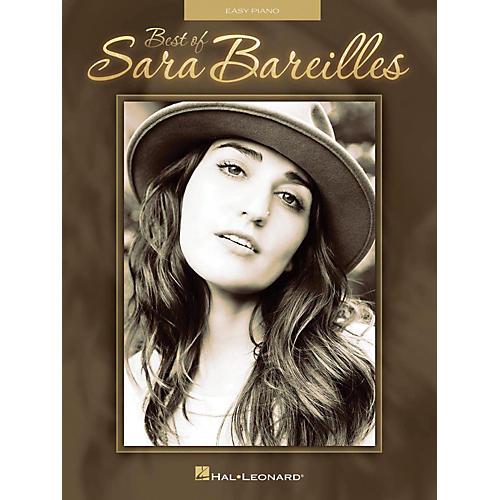 Hal Leonard Best Of Sara Bareilles for Easy Piano